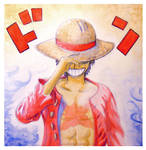 DON! (Luffy from One Piece)   GIFTART by MajorasMasks