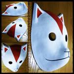 Itachi's ANBU mask   COMMISSION by MajorasMasks