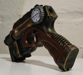 Steampunk theater prop pistol3 by Hypercats