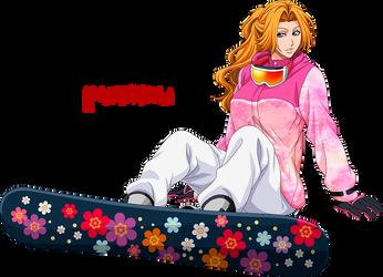 Rangiku Matsumoto - Winter Snowboard by Androkording