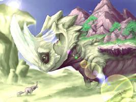 mountain dragoon by lifesucksopay