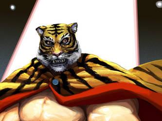 Tiger Mask by leeyiankun