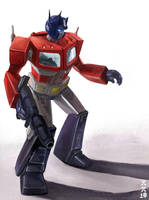 The Greatest Autobot by leeyiankun