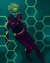 commission - Brainiac 5 by bluestraggler