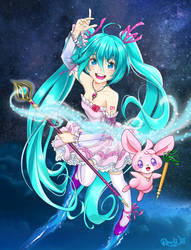 Magical Miku by Randwill