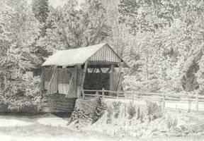 Covered Bridge by aidanrandwilson