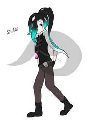 Shinkai (Octsona Splatoon) by houndoommegamaster