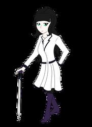 RWBY OC- Violet Inagi by houndoommegamaster