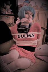 Bulma in bonds #002 by Vixxynn