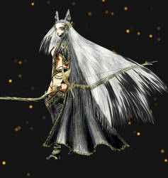MoonElf Hero by Tigreperro