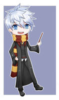 Jack Frost - Hogwarts AU by fryzylstyk