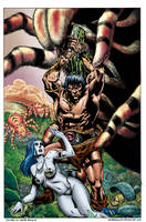 Coloring -  Conan, The barberian. (V1.1) by andreranulfo