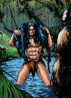 Coloring  - Tarzan - Lord of the jungle (v1.2) by andreranulfo