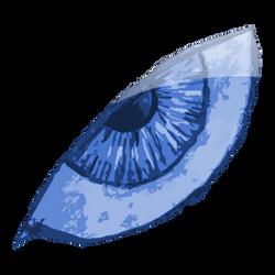 The Left Blue Eye by IxoliteFH