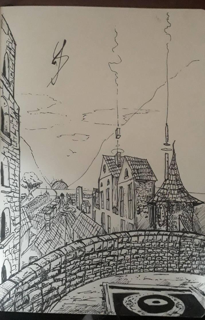 Inked City! by RandomDigiArtist