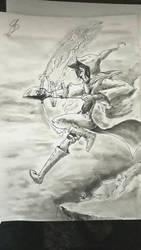 Magic Archer! by RandomDigiArtist