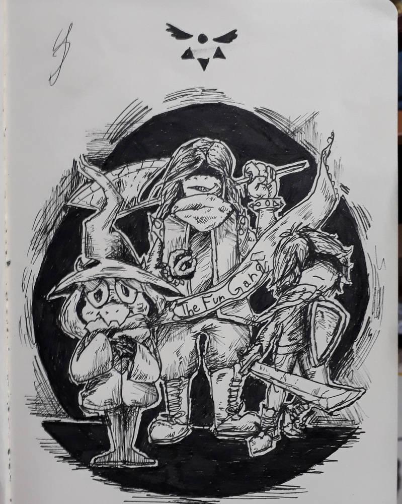The Fun Gang - Delta Rune by RandomDigiArtist
