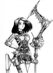 Alita Revamped by Chael