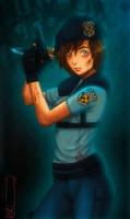 Jill Valentine by YokaiOni