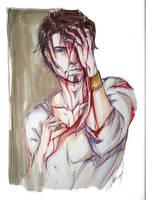 bloody kurtis by Adayka