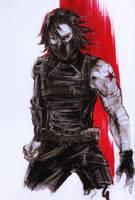 Bucky sketch by Adayka