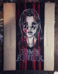Cardboard Tomb Raider aod by Adayka