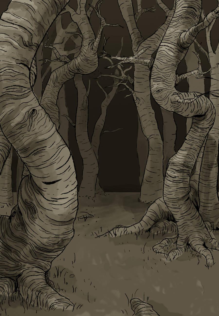 Dark Forest by Tysirr