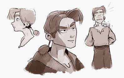 Jim Hawkins by Tysirr