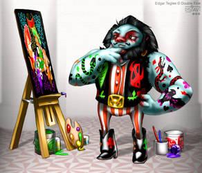 A prisoner of Art by DrJavi