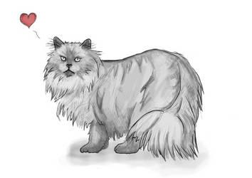 Mr small - Quick Cat speedpaint by N30N3K0