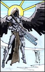 Railgun Angel by dForrest