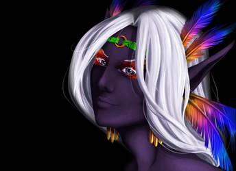 Eyes of Rainbow Hue by Annemar