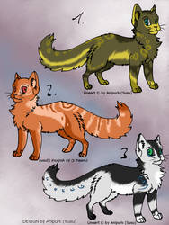Adoptables - Cat OPEN by Anipurk