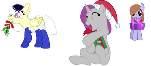 Christmas Picture (With 4 Easter Eggs) by Stormlight12