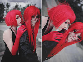 Grell and Madame Red by Dantelian