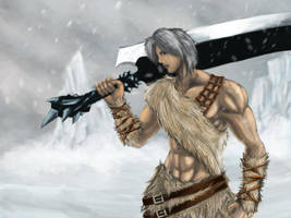 Warrior from the North by LetterQ