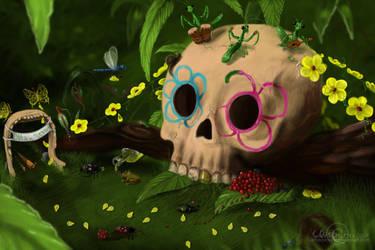 Dia de los muertos by Audodo