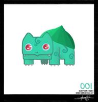 Bulbasaur - Pokemon One a Day! by BonnyJohn