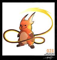 Raichu!  Pokemon One a Day by BonnyJohn