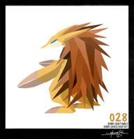 Sandslash ! Pokemon One a Day! by BonnyJohn