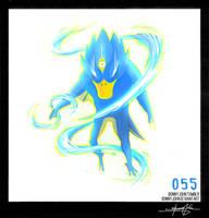Golduck!  Pokemon One a Day! by BonnyJohn