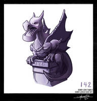 Aerodactyl!  Pokemon One a Day! by BonnyJohn