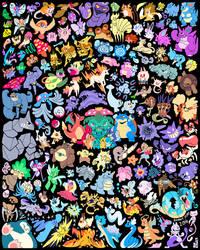 Pokemon 20th Anniversary Tribute! by BonnyJohn