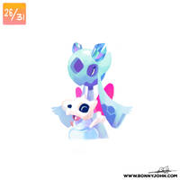 10/26 - Cubone and Froslass! by BonnyJohn