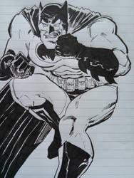 Batman Doodle by miroredgrave