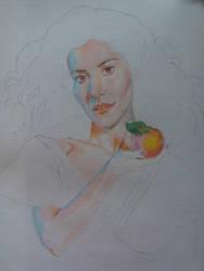 Marina and the Diamonds WIP by miroredgrave