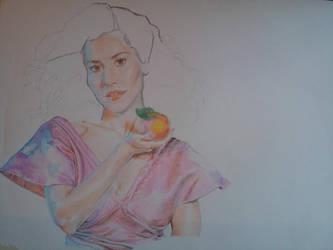 Marina and the Diamonds (WIP, almost finished) by miroredgrave
