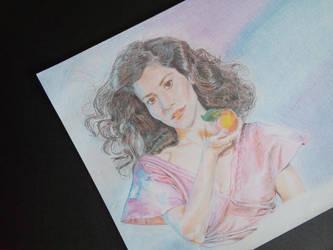 Marina Diamandis (Marina and the Diamonds) by miroredgrave