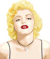 Marilyn Monroe - vector by JesusAdro