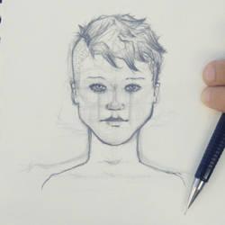 Retratos misteriosos (Laura) by JesusAdro